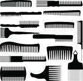 Comb Illustration                                              EPS 10.