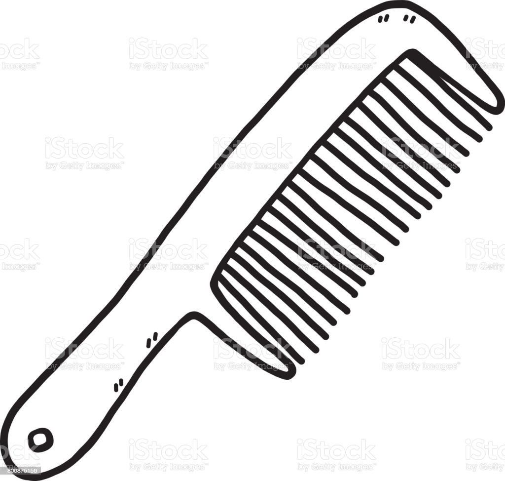 royalty free hair comb clip art vector images