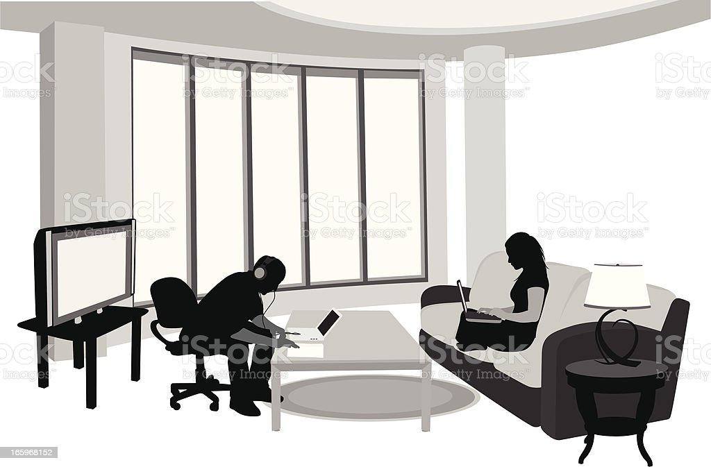 Comfort Vector Silhouette royalty-free comfort vector silhouette stock vector art & more images of adult