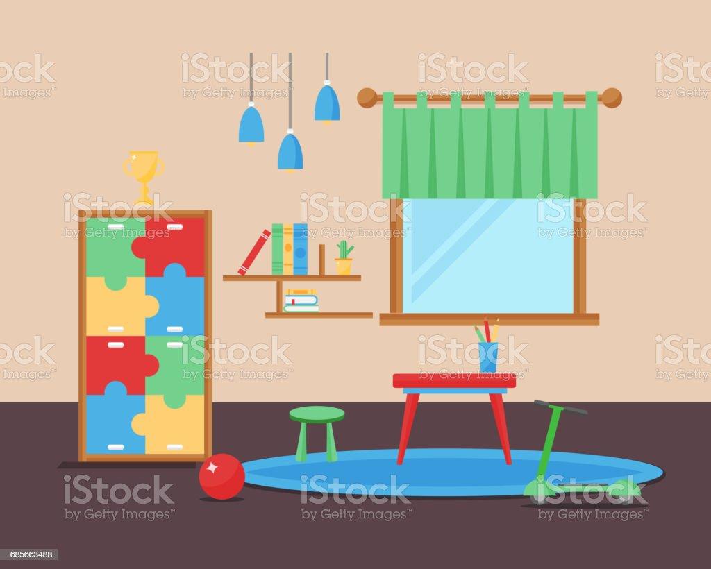 Komfortable Gemütliche Baby Zimmer Dekor Kinder Schlafzimmer ...