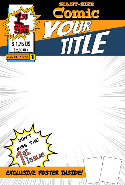 Comic Book Cover Template Free : Royalty free comic book clip art vector images