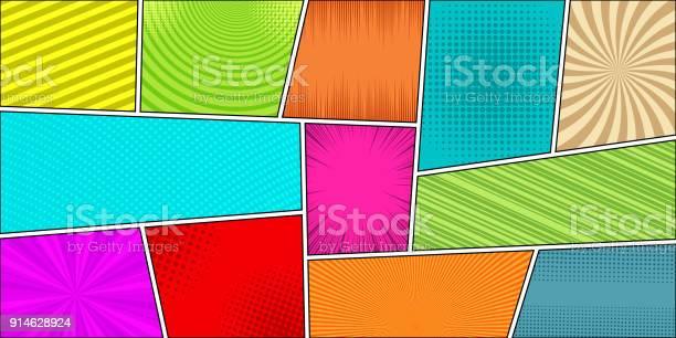 Comic book horizontal bright background vector id914628924?b=1&k=6&m=914628924&s=612x612&h=48cauodyo70knn74ixqbv9axpdru8fyse5enkua htw=