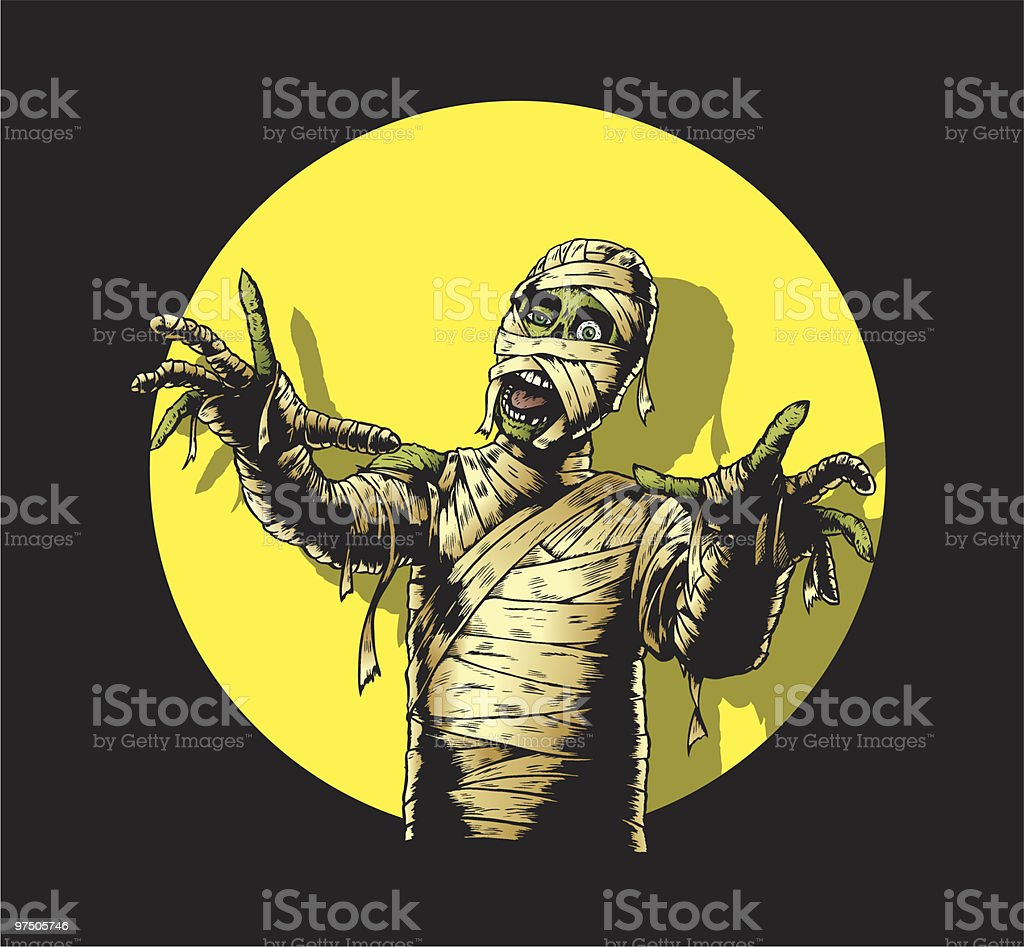 Comic Book Mummy royalty-free comic book mummy stock vector art & more images of adult