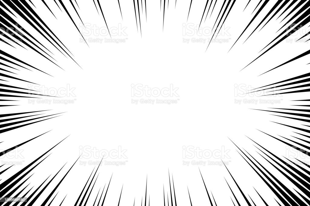 Comic book radial lines background. Manga speed frame. Explosion vector illustration. Star burst or sun rays abstract backdrop Comic book radial lines background. Manga speed frame. Explosion vector illustration. Star burst or sun rays abstract backdrop Abstract stock vector