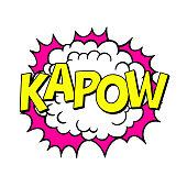 istock Comic Book Sound Effect. Kapow 1312128558