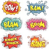 Cartoon Sound Effects Stock Illustration - Download Image