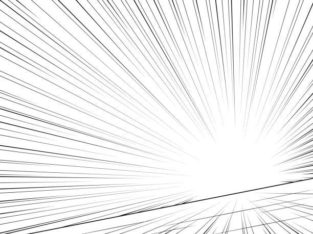 comic-buch-speed-linien. zusammenfassung hintergrund. vektor - kunstaktivitäten stock-grafiken, -clipart, -cartoons und -symbole