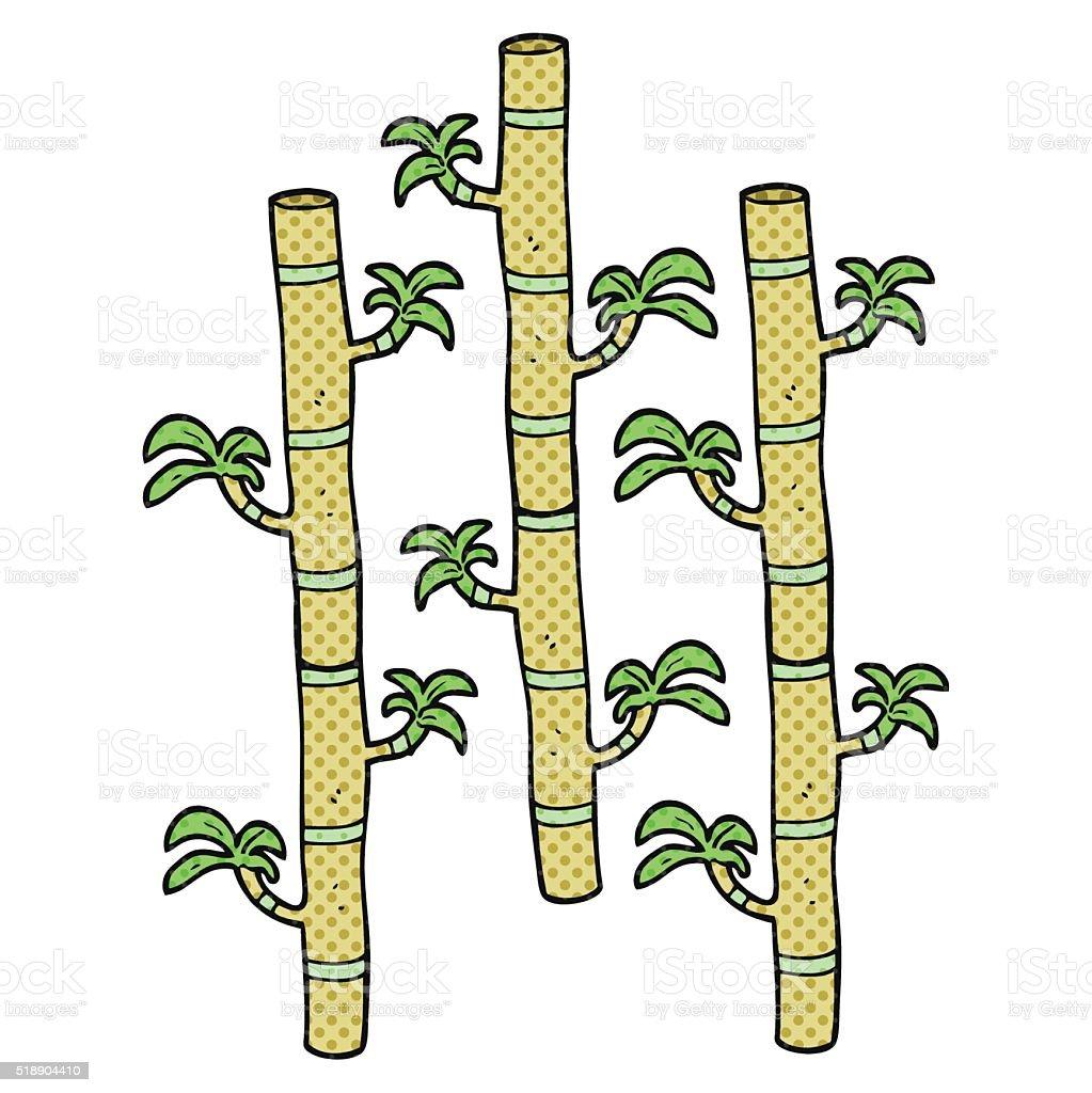 Comicbuch Stil Comic Bambus Stock Vektor Art Und Mehr Bilder Von