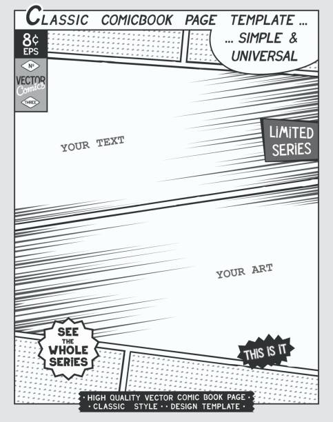 Royalty Free Comic Book Templates Clip Art, Vector Images ...