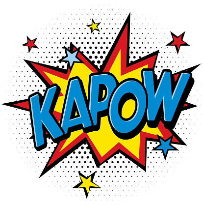 KaPow Comic Speech Bubble