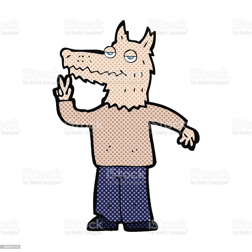 Картинки человек волк мультяшный