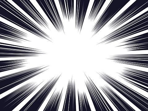 Comic Explosion Background