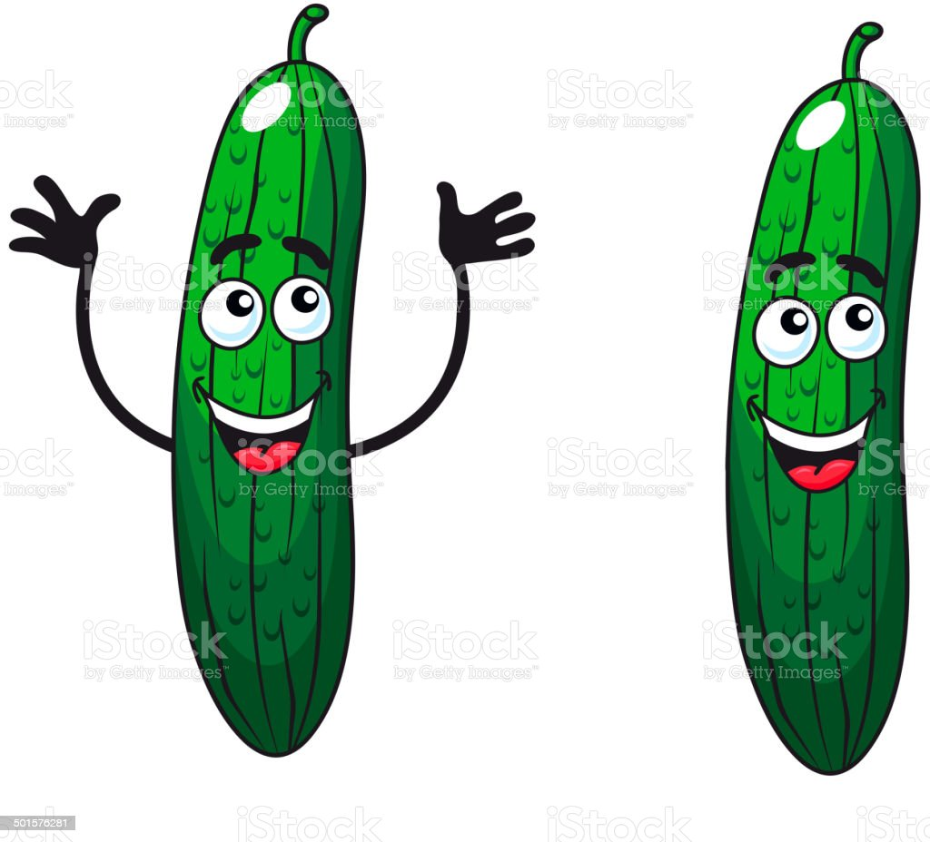 Happy Pickle Clipart Royalty Free Sliced Pi...