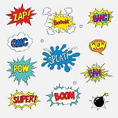 Net Clip Art Bang Soundeffect Vintage Comic Book Sound