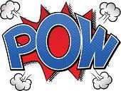comic sound effect pow