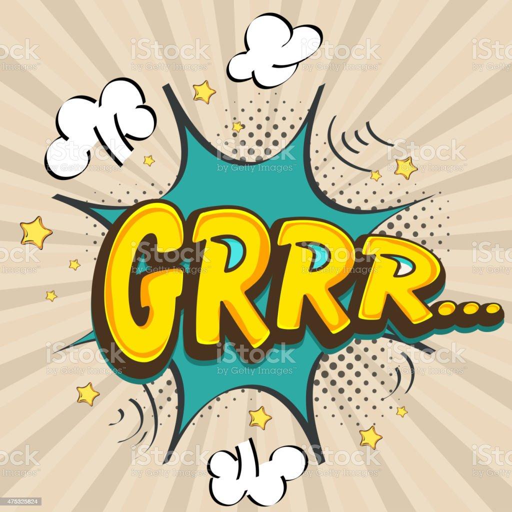 Grrr イラスト素材 - iStock