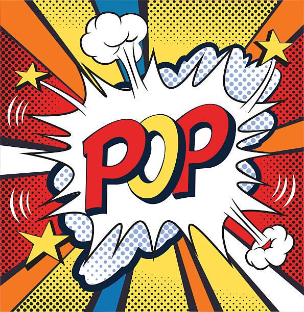 pop-komiks mowy bubble. ilustracja wektorowa - pop art stock illustrations