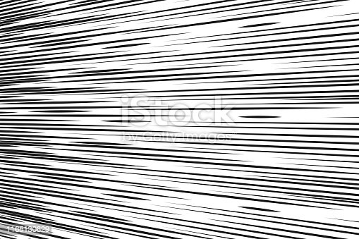 Comic speed lines background Rectangle fight stamp for card Manga or anime graphic texture Superhero action frame Sun ray or space tone elements vector illustration.