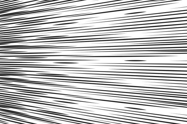 Comic-Geschwindigkeitslinien Hintergrund Rechteck Kampf Stempel für Karte Manga oder Anime Grafik Textur Superhelden Action Frame Sonnenstrahl oder Raum Ton Elemente Vektor-Illustration – Vektorgrafik