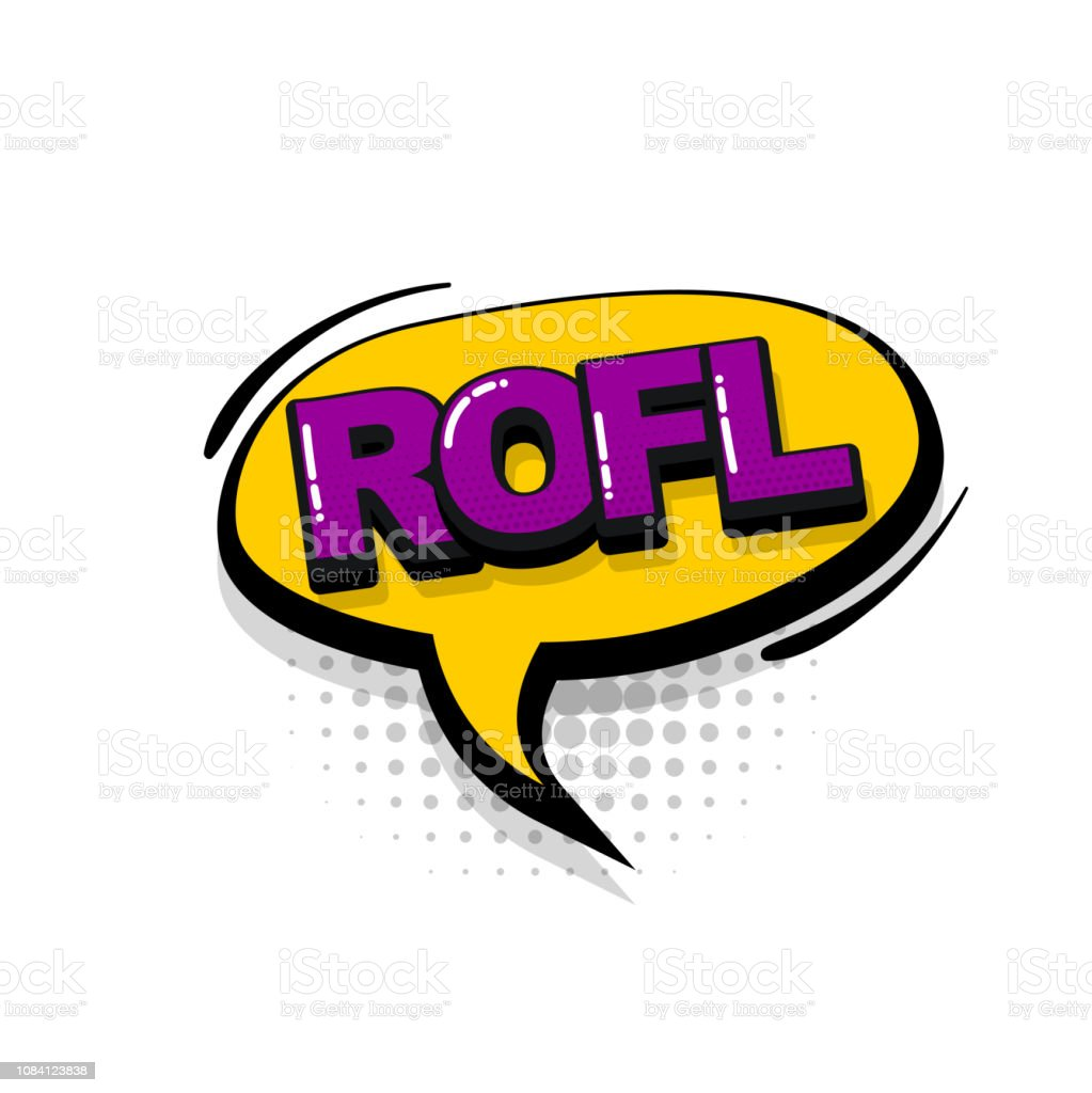 Comic Text Collection Sound Effects Pop Art Style Stock Illustration