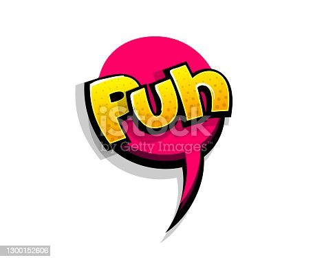 istock Comic text puh, poof logo sound effects 1300152606