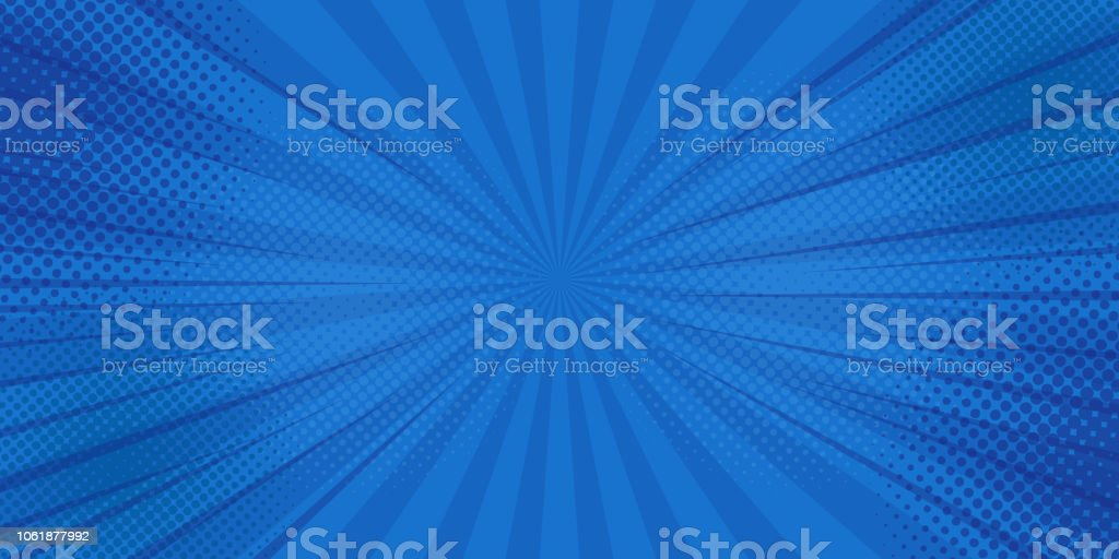Comics rays background with halftones. Vector summer backdrop illustrations royalty-free comics rays background with halftones vector summer backdrop illustrations stock illustration - download image now