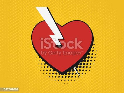 istock Comics valentine 1097369662