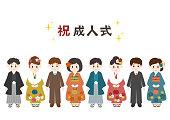 成人式 (着物・ フォーマルな服)