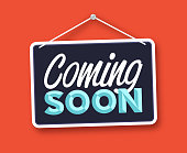 istock Coming Soon Hanging Sign 1339139937