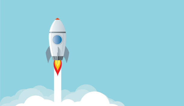 coming soon Vector coming soon rocket stock illustrations
