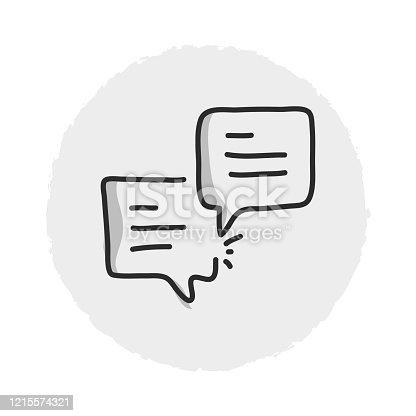 Comment Line Icon