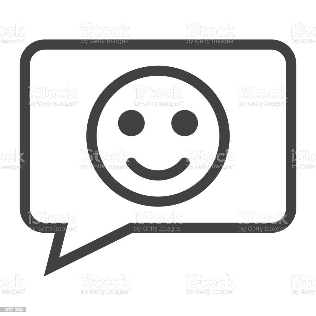 與微笑線圖示、 回饋和網站按鈕,向量圖形,在白色的背景下,eps 10 的線性模式作出評論。 免版稅 與微笑線圖示 回饋和網站按鈕向量圖形在白色的背景下eps 10 的線性模式作出評論 向量插圖及更多 可愛 圖片