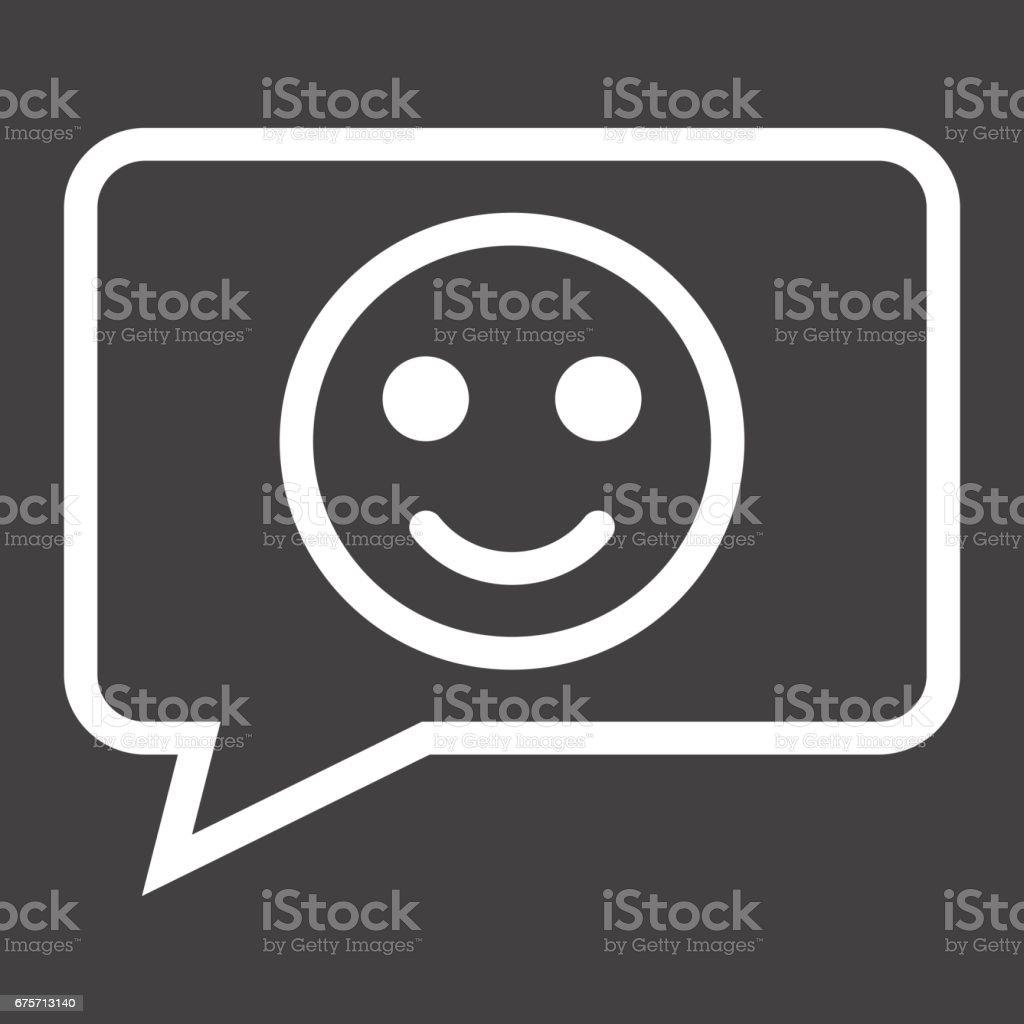 與微笑線圖示、 回饋和網站按鈕,向量圖形,在黑色的背景,eps 10 的線性模式作出評論。 免版稅 與微笑線圖示 回饋和網站按鈕向量圖形在黑色的背景eps 10 的線性模式作出評論 向量插圖及更多 可愛 圖片