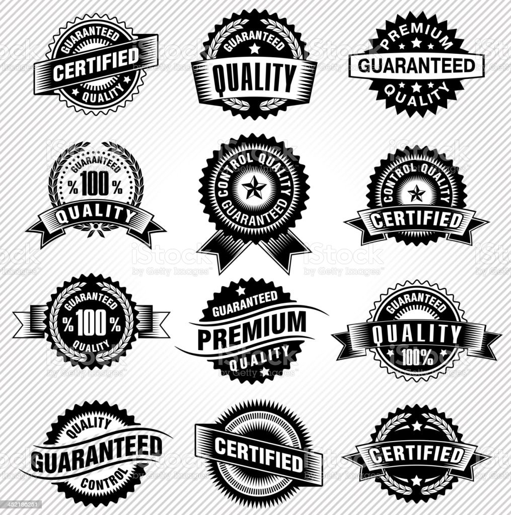 Commerce Labels royalty-free stock vector art