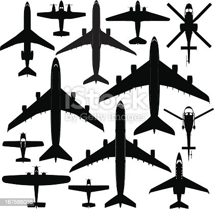 istock Commercial Aircrafts 167588038