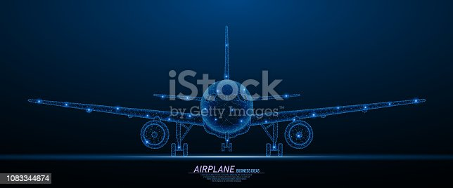istock Commercial airliner concept 1083344674