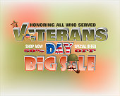 Commercial events of Veterans day, sales