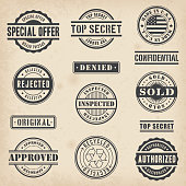 Collection of 13 Hi detail commercial stamps