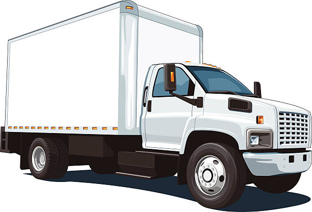 Royalty Free Delivery Truck Clip Art, Vector Images ...