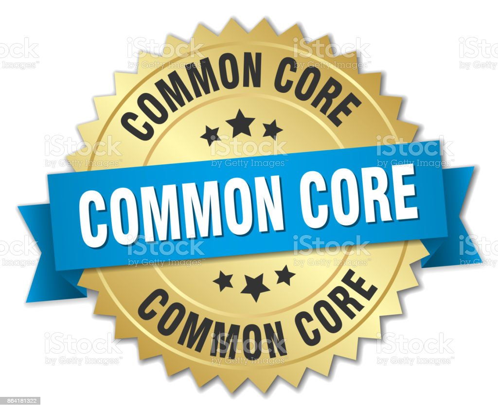common core round isolated gold badge royalty-free common core round isolated gold badge stock vector art & more images of award ribbon