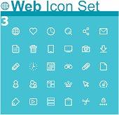 Common internet icons and symbols