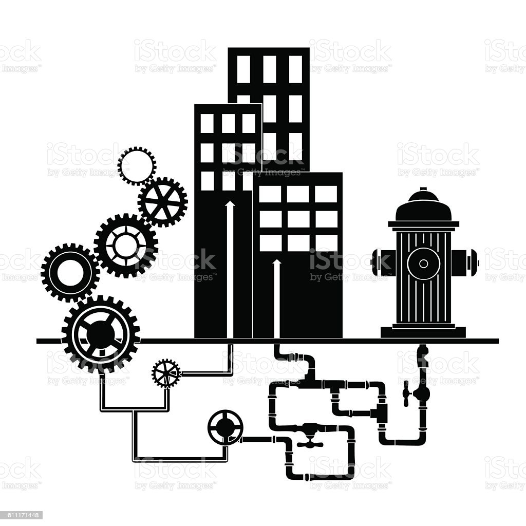 Communal Services Stock Vector Art & More Images of Abstract ...