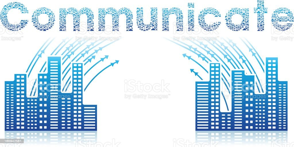 Communicate icon royalty-free communicate icon stock vector art & more images of blue