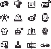 Communication and Digital Technology Icons - Acme Series