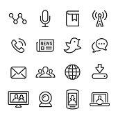 Communication, Media, social media