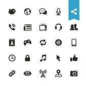 UI essentials - 25 exclusive vector icons.