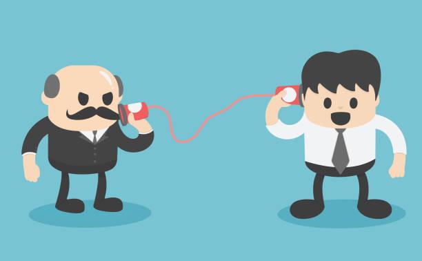Communication, conversation, dialogue between two people ... |Communication Between People