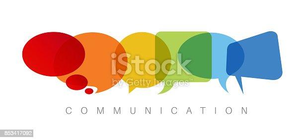 istock Communication concept illustration 853417092