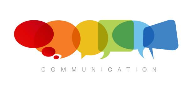 иллюстрация концепции коммуникации - сообщение stock illustrations