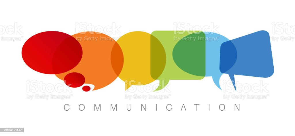 Communication concept illustration vector art illustration